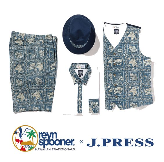 reynspoonere × J.PRESS