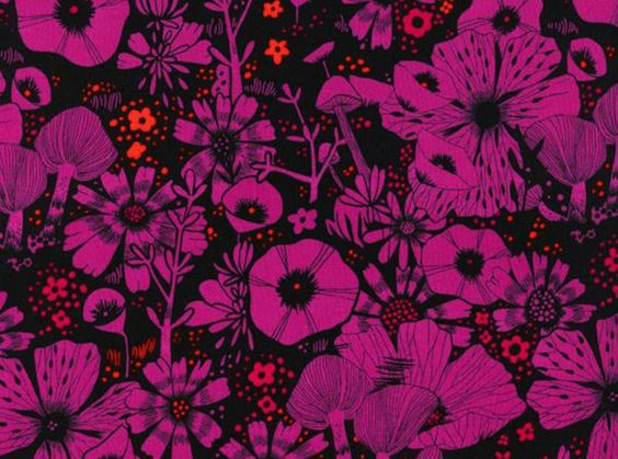 Blouse worthy rayon - Cotton and Steel Sarah Watts Cat Lady Purrfect Hiding Spot Rayon Purple