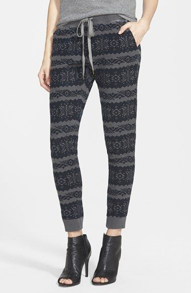 Sol Angeles Fair Isle Sweatpants available at #Nordstrom