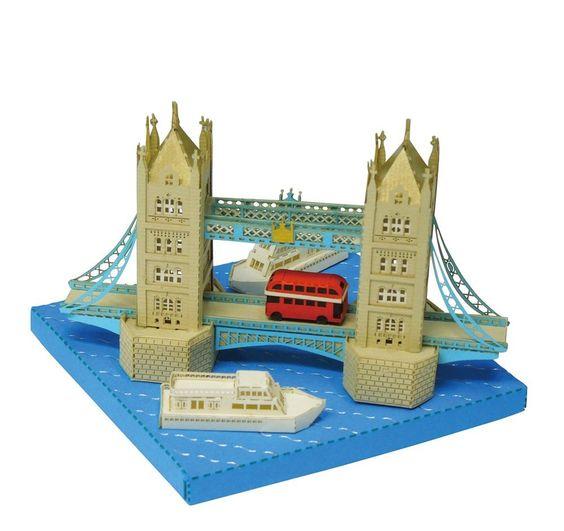 "Paper Nano ""Tower Bridge"" | Kawada PN-110"