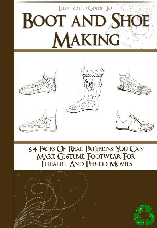 64 seltene Schuh und BOOT-Muster illustrierte Buch von HowToBooks