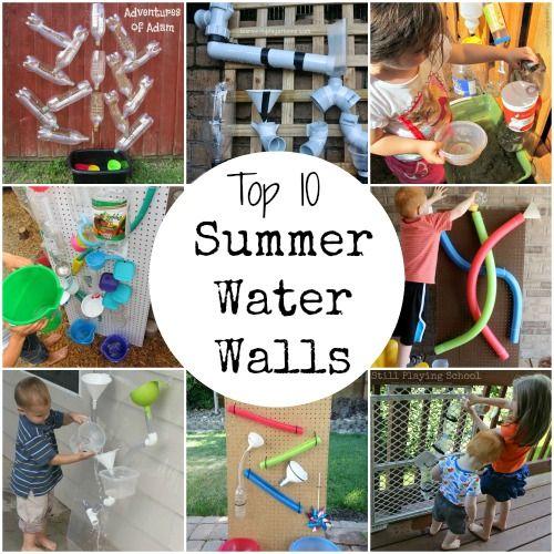 Adventures of Adam top 10 summer water walls