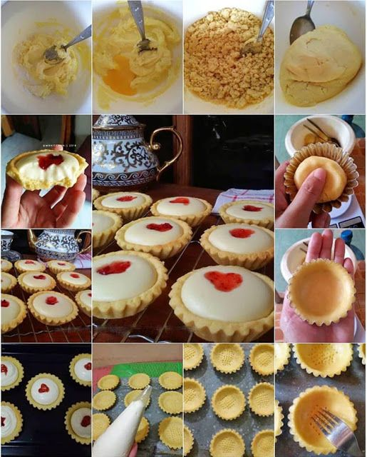 Resep Cara Membuat Strawberry Cheese Tart Japanese Cheese Tart Bakery Cakes Cheese Tarts