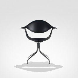 Cadeira Com Braços Nelson Swag Leg