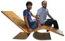 Chaise lounge. Diseñadores Faro y Beneitez. Galicia.