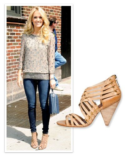 Carrie Underwood - Summer's Chicest Shoes