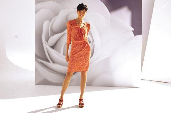 La robe feuillage