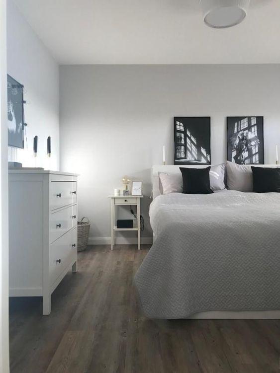 Schlafzimmer im skandinavischen Landhausstil! #weiß ...