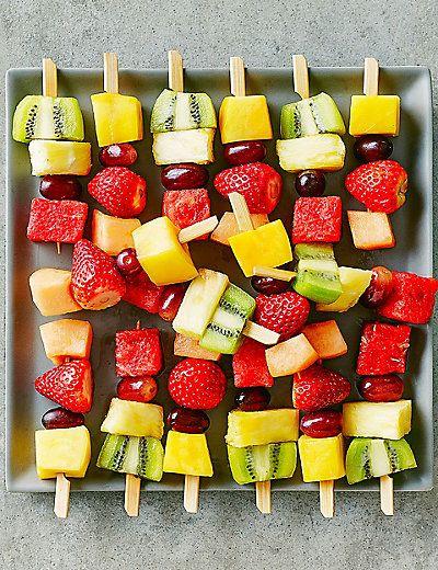 Mini Fresh Fruit Kebabs (16 Pieces) | M&S