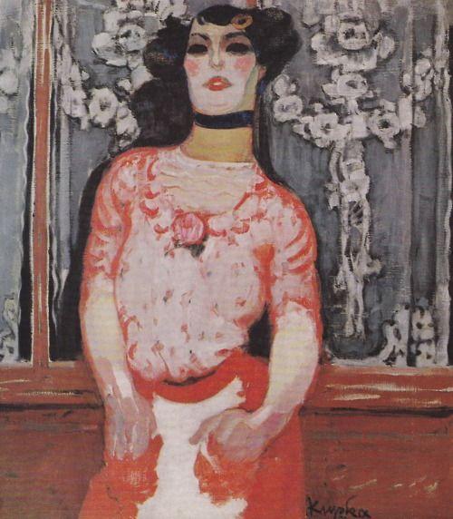 Frantisek Kupka, The Girl at Gallien (1909)