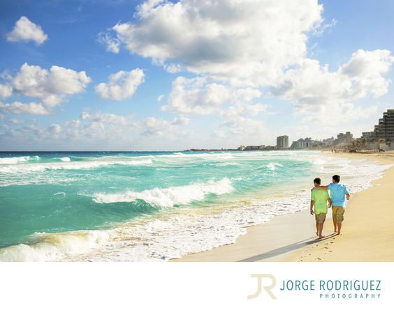 Jorge Rodriguez Photography - Destination Wedding Photography & Portrait based in Playa del Carmen, covering Tulum, Cozumel, Isla Mujeres, Cancun & Riviera Maya Mexico  - Cancun Photographer: Traveling out of the US to Mexico and booking an engagement and family photo shoot before we departed was nerve racking for us. Especially putting down a deposit without meeting someone. We wanted someone with a great track record and professional. We were referred to Jorge and he was FANTASTIC. He was…