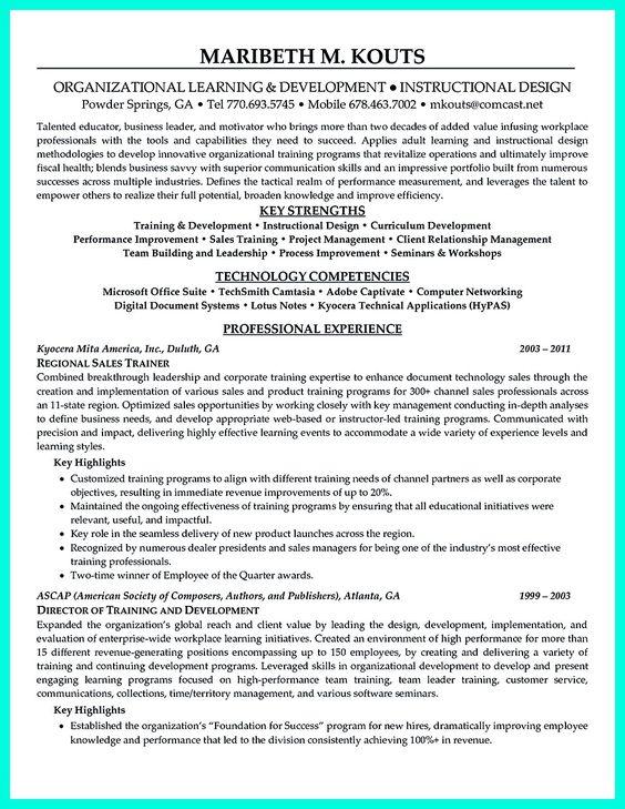 Pinterest U2022 Światowy Katalog Pomysłów   Corporate Trainer Resume  Corporate Trainer Resume