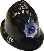 Plastic policemen's helmet - Cops & Robbers