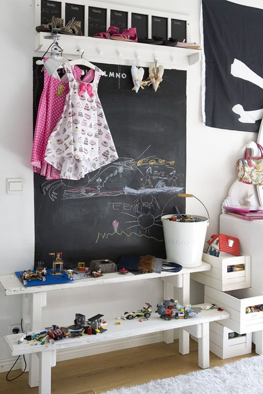 Chalkboards Creative Storage And Kids Rooms On Pinterest