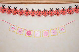 ladybug banner