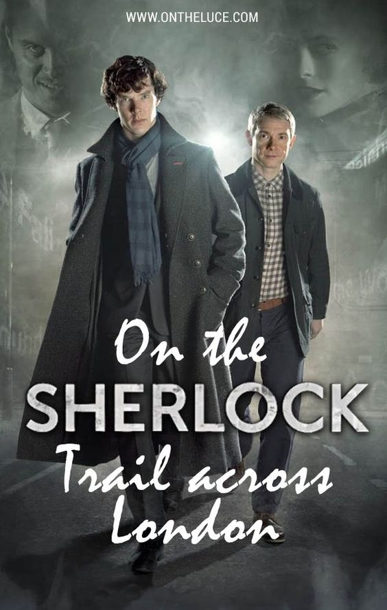 Following in the footsteps of Benedict Cumberbatch in a walking tour of the locations from the BBC series #Sherlock across #London