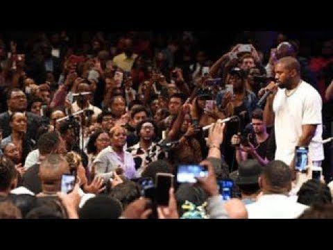 Yang Gang Takes Kanye West To Church Youtube Youtube Usa Presidents Kanye West