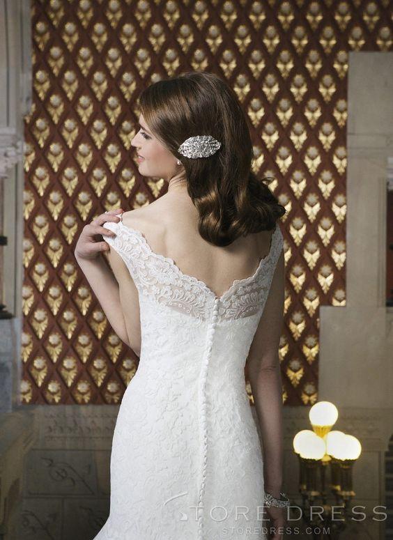 Gorgeous Ball Gown Chapel Sash / Ribbon Wedding Dress 2014