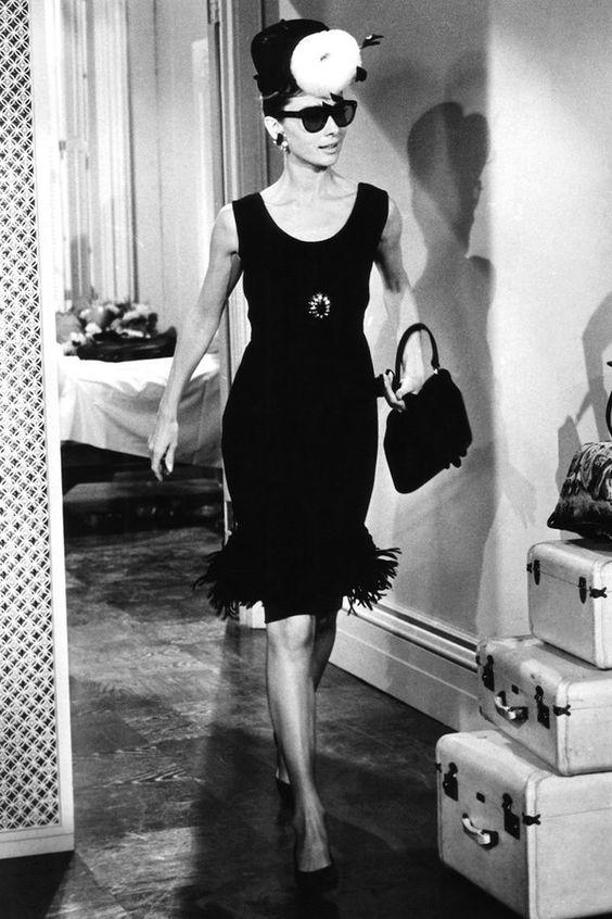 Coco Chanel Unique Little Black Gown