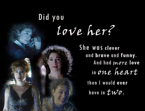 on @DeviantArt ~ ksc Clara: Did you love her, River Song? ..// Doctor ...