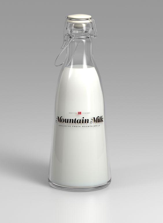 Tine Melk - Mountain Milk by Anders Drage