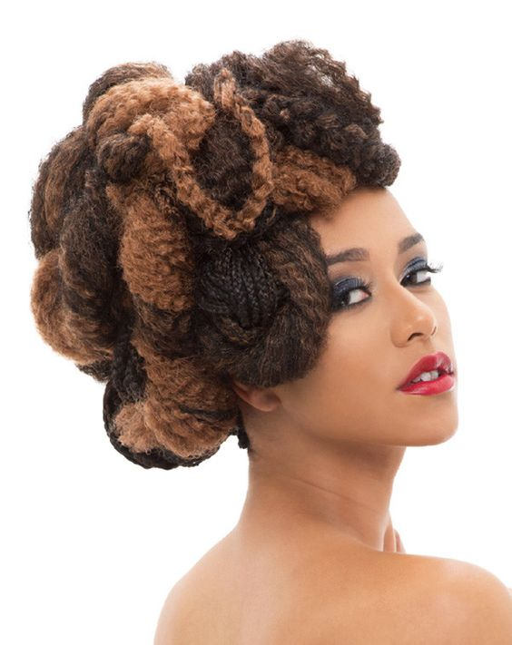 Crochet Braids Janet Collection : ... quality synthetic synthetic fiber twist crochet crochet braids forward