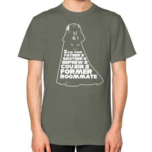 I AM YOUR FATHER Unisex T-Shirt (on man)
