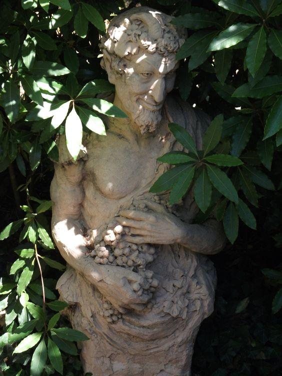 Bacchus in Stone