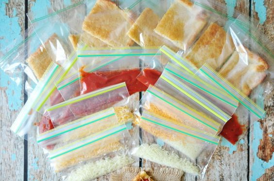 Copycat Pizza Lunchable 'I've been making the cheese-and-cracker Lunchables at…