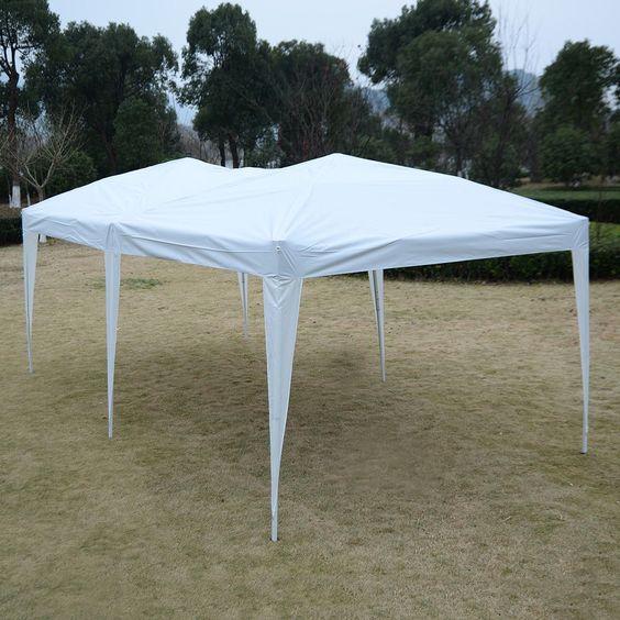 10 X 20 Ez Pop Up Folding Wedding Party Tent Cross Bar Party Tent Gazebo Tent