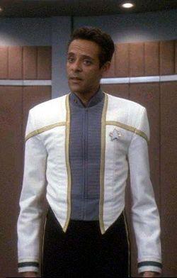 Dr. Julian Bashir from Star Trek: Deep Space Nine.