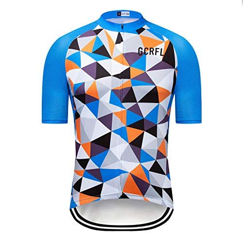 Gcrfl Summer Breathable Men S Cycling Jersey Road Bike Short