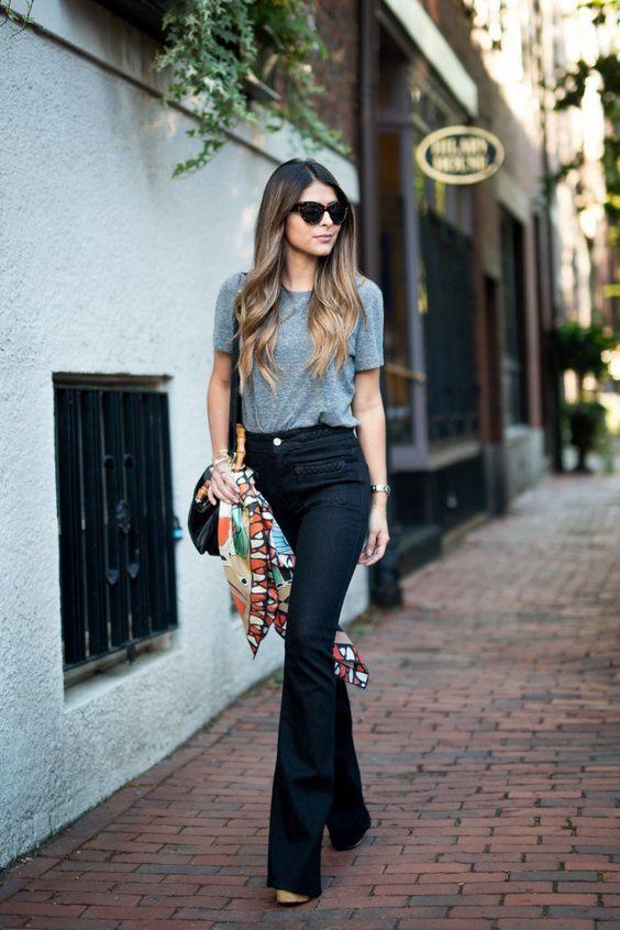 22 Coolest Ways to Wear Flared Jeans: Pretty Designs waysify