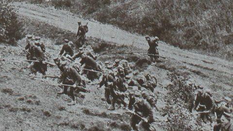 At The Beginning Of August 1914 The German Army Marched On Liege In Belgium Wereldoorlog