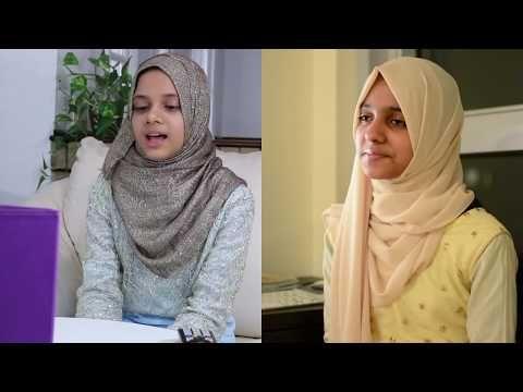 Maryam Masud Doing A Beautiful Nasheed With Ayisha Basith Youtube Maryam Shalawat Islamic Videos
