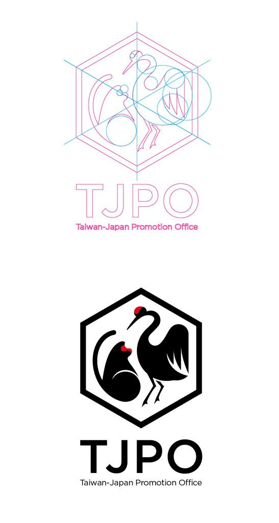 https://flic.kr/p/btVNnr | Logo︱TJPO Taiwan-Japan Promotion Office | Formosan monkey & Red-crowned crane