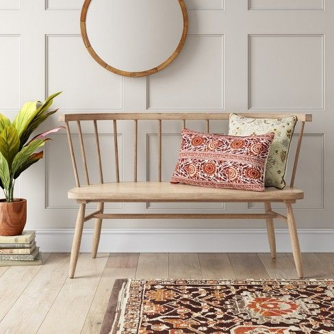 Windsor Bench Threshold Target Living Room Bench Windsor Bench Decor