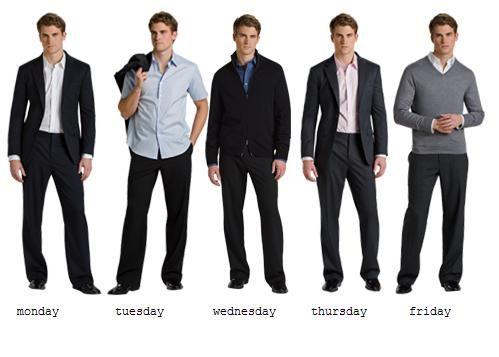 Men's Business Attire  http://fashiontrendsmens.com/wp-content/uploads/2012/04/business-suits-for-men.jpg