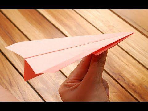 كيفية صنع طائرة ورقية تطير بشكل رائع Youtube Origami Paper Art Fold Flyer