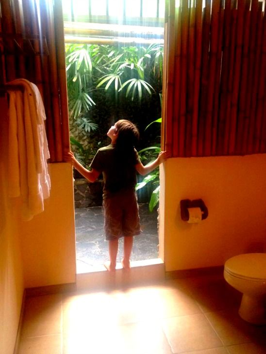 Lost Iguana Resort #costarica Outdoor Shower #hotels #travel