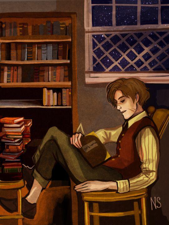 Remus Lupin by nastjastark: