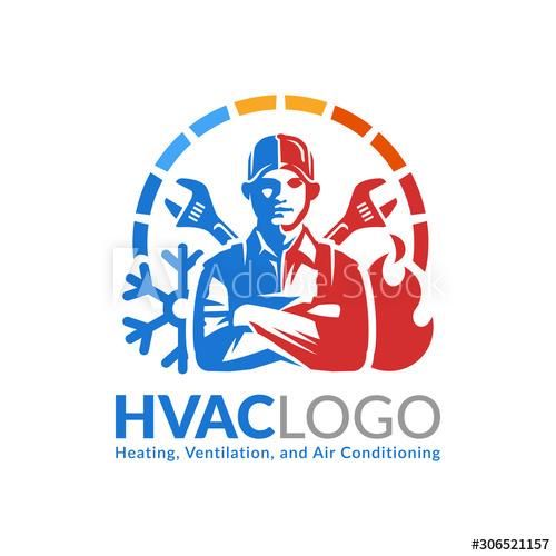 Air Conditioning Logo In 2020 Air Conditioning Logo Heat