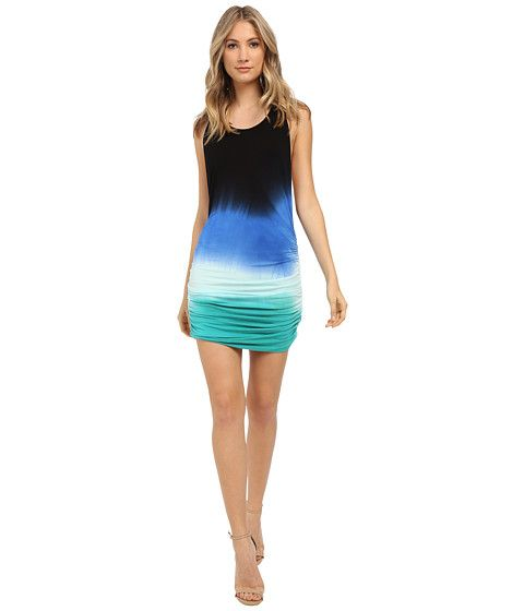Young Fabulous & Broke Rocky Dress Navy Ombre - 6pm.com