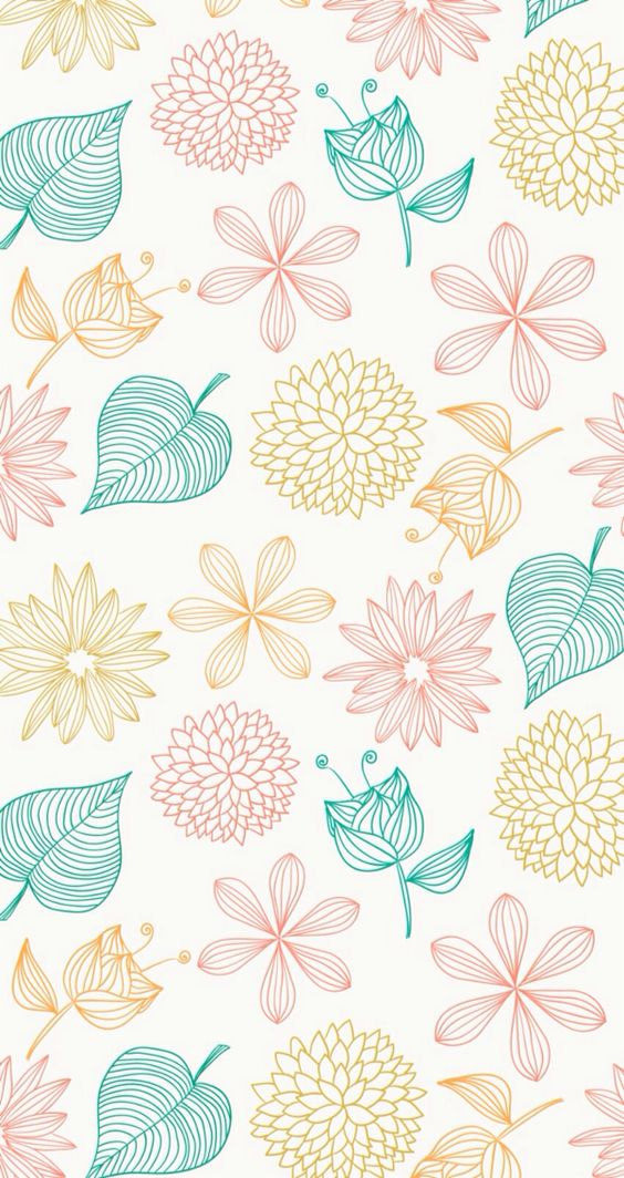 Cute simple pattern wallpaper wallpapers pinterest for Easy wallpaper ideas