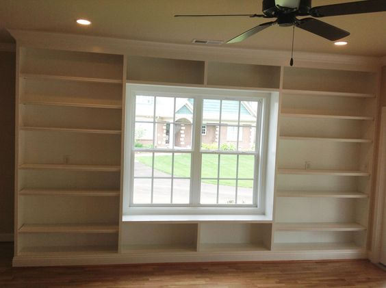 Built in shelves around a window I would love to have
