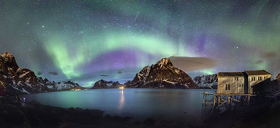 Title: Aurora above Reinefjord Artist: Alex Conu Norway