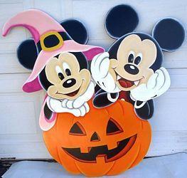 Mickey & Minnie Pumpkin