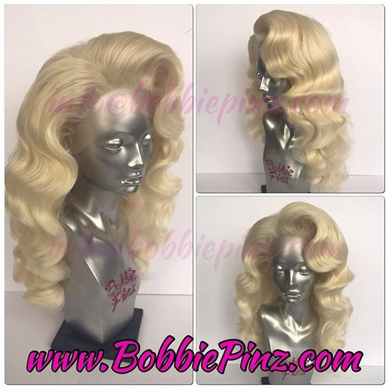 A custom retro styled Pale Blonde Frost!  Currently on hiatus from custom orders!