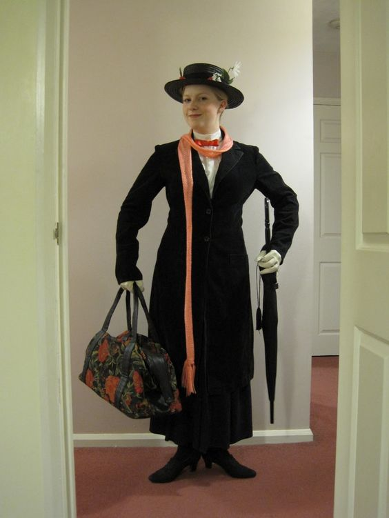 pintererest mary poppins costume mary poppins costume. Black Bedroom Furniture Sets. Home Design Ideas