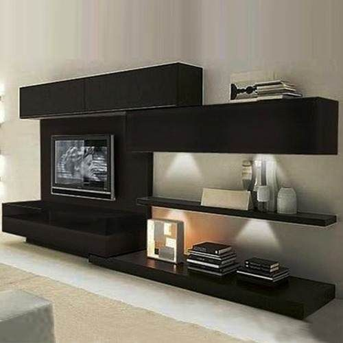 Rack lcd modulares modernos tv factory muebles boston for Muebles modernos living para tv